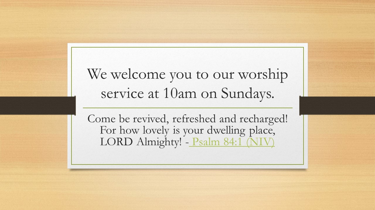 We-welcome-you-to-our-worship-service-at.pptx